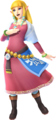 Zelda - Skyloft Robes (Hyrule Warriors Skyward Sword Costume DLC)