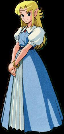 Artwork Princesa Zelda ALttP