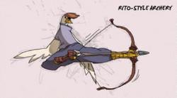 BotW-Arquería orni