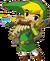 Link Playing Spirit Flute