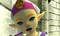 Princesa Zelda niña OoT