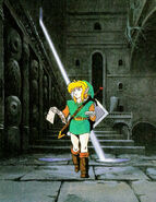 Carte Donjon Artwork ALttP
