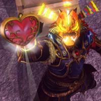 Ganondorf DLC máscara Odolwa HW