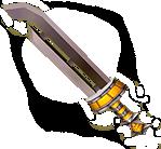 Majora's Mask 3D Razor Sword (Render)