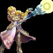 Princesa Zelda Cetro del Dominio HW