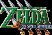 The Legend of Zelda - Four Swords Adventures (logo)