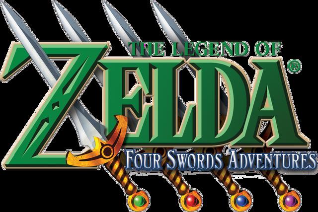 Файл:The Legend of Zelda - Four Swords Adventures (logo).png