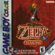 The Legend of Zelda - Oracle of Seasons (boxart)