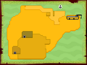Mapa Isla del Cañón