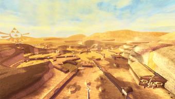 zelda wüste titan