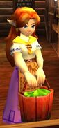 Adult Malon in Ocarina of Time 3D