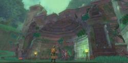 Entrée du Temple du Sceau