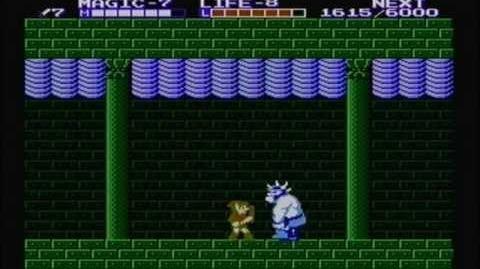 Zelda the adventure of link - Boss 5 Gooma