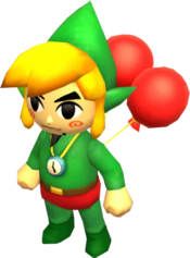 Link Tingle Malla de Globos TFH
