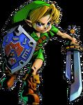 Link con la Espada Afilada MM 3D