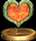 Trofeo Contenedor Corazón SSBB