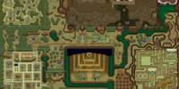 A Link To The Past Dark World Map.Image A Link To The Past Overworld Map Dark World Png