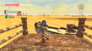 Skyward Sword Skipper's Motorboat Timeshift Stone (inactive)