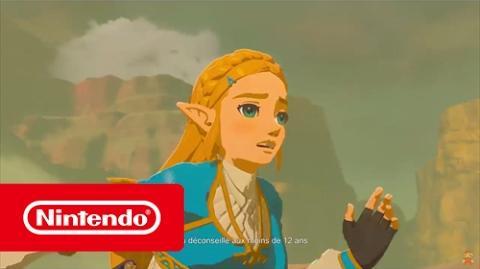 The Legend of Zelda Breath of the Wild - Publicité Française 2