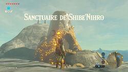Sanctuaire de Shibe'Nihro BOTW