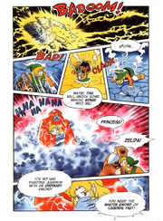 The Legend of Zelda - A Link to the Past Comic