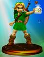 Young Link Adventure Trophy (Super Smash Bros. Melee)