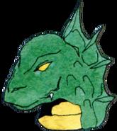 Artwork donjon lizard