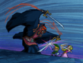 Link vs. Ganondorf (The Wind Waker)
