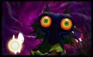 Skull Kid con la Máscara de Majora MM 3D