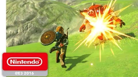 The Legend of Zelda Breath of the Wild - Exploration - E3 2016