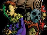 Счастливый Продавец Масок (Happy Mask Salesman)