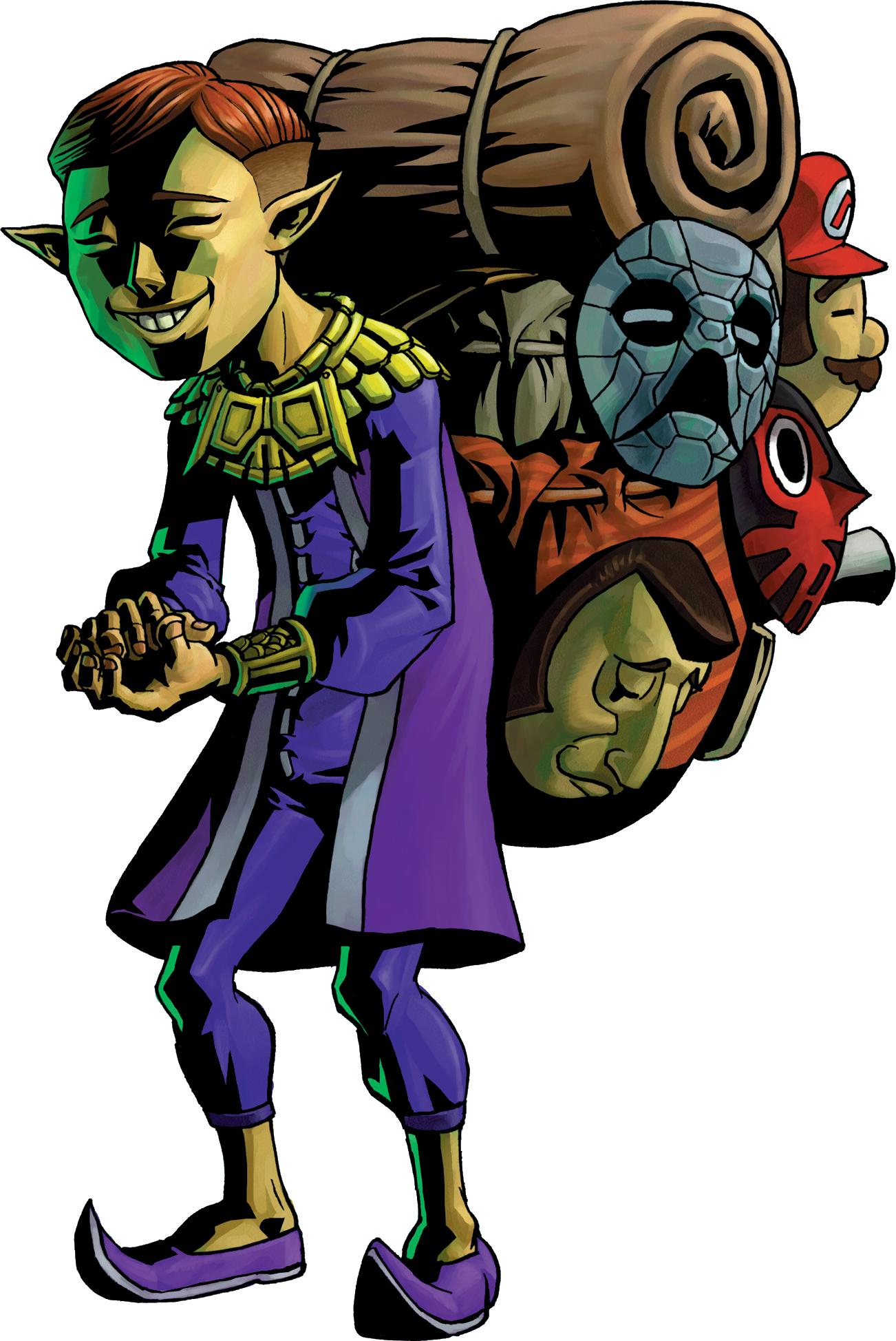 Happy Mask Salesman | Zeldapedia | FANDOM powered by Wikia