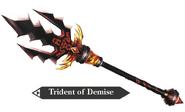 Hyrule Warriors Legends Trident Trident of Demise (Render)