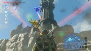 Blick auf Zeldas Turm
