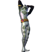 Hyrule Warriors Ghirahim Damaged Self (Alternate Costume - Twilight DLC)