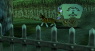 Link et Cremia carriole