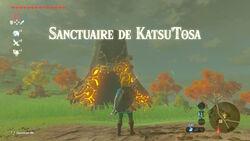 Sanctuaire de Katsu'Tosa BOTW
