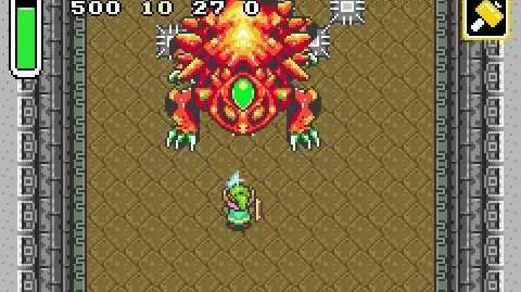 Zelda A Link to the Past - Boss 5 - Helmasaur King