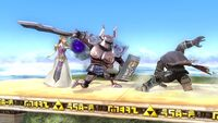 Zelda invocando un espectro SSB4 WIi U