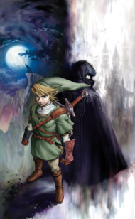 Artwork Link y Zelda TP