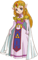 Artwork princesa Zelda OFA OFS