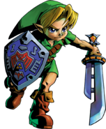 Link Artwork 3 (Majora's Mask)