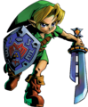 Link Artwork 3 (Majora's Mask)