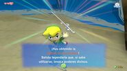 Link obteniendo la Batuta de los Vientos en TWW HD