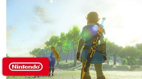 The Legend of Zelda Breath of the Wild - Nintendo Switch Presentation 2017 Trailer