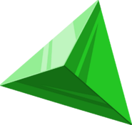 Artwork oficial de una Gema de Fuerza Verde FSA