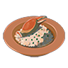 Breath of the Wild Food Dish (Risotto) Crab Risotto (Icon)