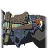 File:Breath of the Wild Key Items (Monster Horse Gear) Monster Saddle (Icon).png