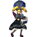 Hyrule Warriors Agitha Standard Outfit (Black Lolita Recolor - Master Quest DLC).png