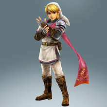 Hyrule Warriors Legends Link Hero's Clothes (Koholint - Game Boy Recolor)